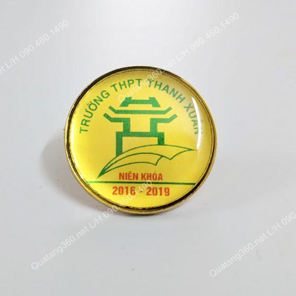 huy hiệu đồng mạ vàng