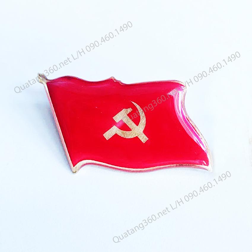 huy hiệu đại hội đảng đồng ăn mòn