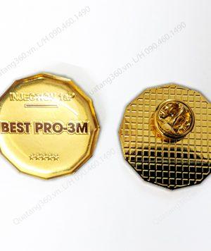 Pin cài áo đồng mạ vàng cao cấp